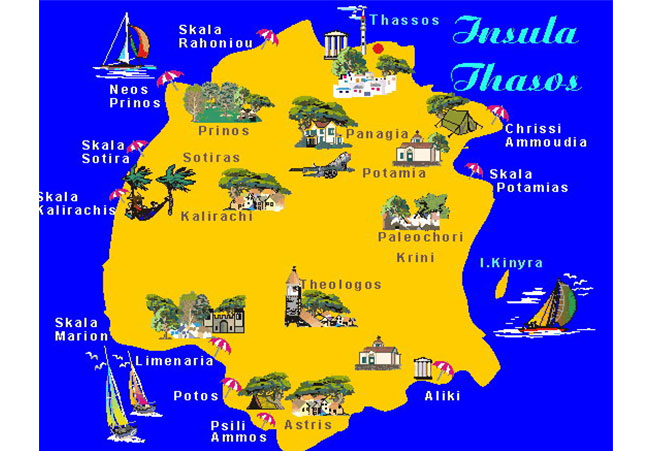 Oferta Litoral Grecia Statiunea Thassos